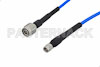 SMA Male to TNC Male Precision Cable 60 Inch Length Using 160 Series Coax, LF Solder, RoHS