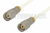1.85mm Male to 1.85mm Male Precision Cable 18 Inch Length Using 098 Series Coax, RoHS