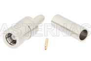 SMB Plug Connector Crimp/Solder Attachment for RG316-DS, RG188-DS