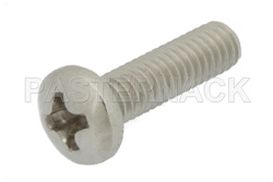 3-56 Stainless Steel Screw 0.375 Inch Long Phillips in 100 Each Packages