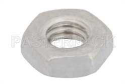 3-56 Stainless Steel Nut in 100 Each Packages