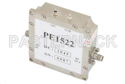 15 dBm P1dB, 4 GHz to 8 GHz, Gain Block Amplifier, 26 dB Gain, 3 dB NF, SMA