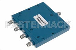 4 Way SMA Wilkinson Power Divider From 1 GHz to 2 GHz Rated at 10 Watts