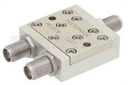 2 Way 2.92mm Power Divider From 10 GHz to 40 GHz Rated at 10 Watts