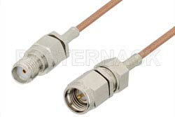 SMA Male to SMA Female Cable 36 Inch Length Using RG178 Coax