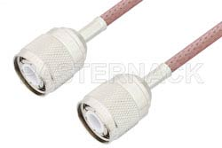 HN Male to HN Male Cable Using RG142 Coax, RoHS