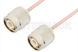 TNC Male to TNC Male Cable Using RG405 Coax