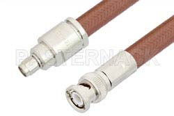 SMA Male to BNC Male Cable Using RG393 Coax