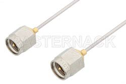 SMA Male to SMA Male Cable Using PE-SR047AL Coax