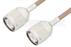 HN Male to HN Male Cable Using RG400 Coax, RoHS