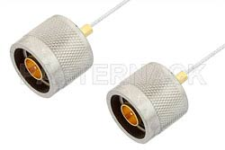 N Male to N Male Cable Using PE-SR047FL Coax