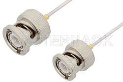BNC Male to BNC Male Cable Using PE-SR047AL Coax