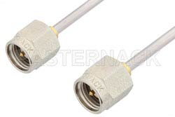 SMA Male to SMA Male Cable Using PE-SR405AL Coax