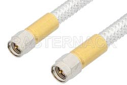 SMA Male to SMA Male Cable Using PE-SR401FL Coax, RoHS