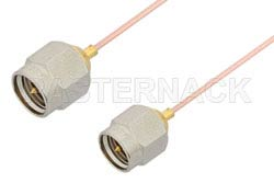 SMA Male to SMA Male Cable Using PE-034SR Coax
