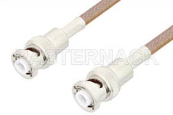 MHV Male to MHV Male Cable Using RG400 Coax, RoHS