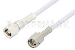 SMA Male to SMC Plug Cable Using RG188-DS Coax