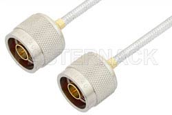 N Male to N Male Cable Using PE-SR402FL Coax