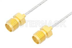 SMA Female to SMA Female Cable Using PE-SR047FL Coax