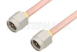 SMA Male to SMA Male Cable Using RG402 Coax, RoHS
