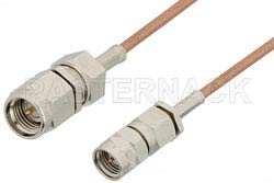 SMA Male to Reverse Thread SMA Male Cable Using RG178 Coax