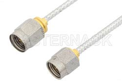 2.92mm Male to 2.4mm Male Cable Using PE-SR405FL Coax, RoHS