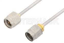 SMA Male to 2.4mm Male Cable Using PE-SR405AL Coax