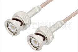 BNC Male to BNC Male Cable Using RG316 Coax