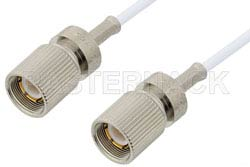 75 Ohm 1.6/5.6 Plug to 75 Ohm 1.6/5.6 Plug Cable Using 75 Ohm RG187 Coax