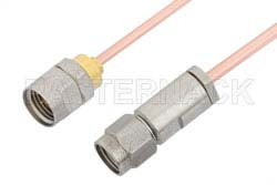 3.5mm Male to 1.85mm Male Cable Using RG405 Coax, RoHS