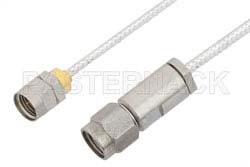 3.5mm Male to 1.85mm Male Cable Using PE-SR405FL Coax, RoHS