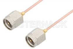 SMA Male to SMA Male Cable Using PE-047SR Coax, RoHS