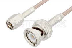SMA Male to BNC Male Cable Using RG316 Coax