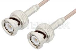 BNC Male to BNC Male Cable Using 75 Ohm RG179 Coax