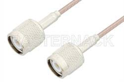 TNC Male to TNC Male Cable Using RG316 Coax, RoHS