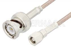 SMC Plug to BNC Male Cable Using RG316 Coax