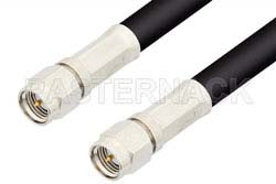 SMA Male to SMA Male Cable Using 93 Ohm RG62 Coax, RoHS