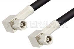 SMC Plug Right Angle to SMC Plug Right Angle Cable Using RG174 Coax