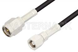 SMA Male to SMC Plug Cable Using RG174 Coax