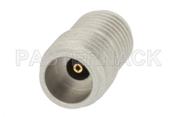 2.4mm Female Threaded Mount Field Replaceable Connector .012 inch Pin