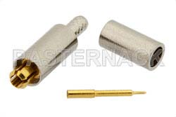 MC-Card Plug Connector Crimp/Solder Attachment For RG178, RG196