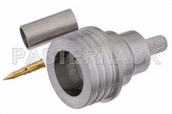 QN Male Connector Crimp/Solder Attachment For RG55, RG142, RG223, RG400