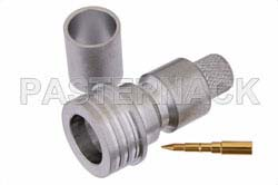 QN Male Connector Crimp/Solder Attachment For RG213, RG215