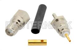 SMA Female Connector Solder Attachment For RG178, RG196