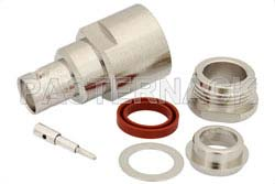 RP BNC Female Connector Clamp/Solder Attachment For RG213, RG214, RG8, RG9, RG225, RG393