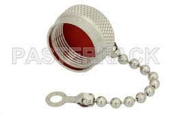 N Male Non-Shorting Dust Cap With 2.9 Inch Chain