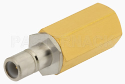 0.5 Watt RF Load Up to 1,000 MHz with SMB Jack Nickel Plated Brass