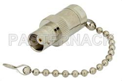 0.5 Watt RF Load with Chain Up to 1,000 MHz with BNC Female Nickel Plated Brass