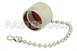 SC Male Non-Shorting Dust Cap With 4 Inch Chain