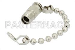 SMA Female Non-Shorting Dust Cap With 2.5 Inch Chain